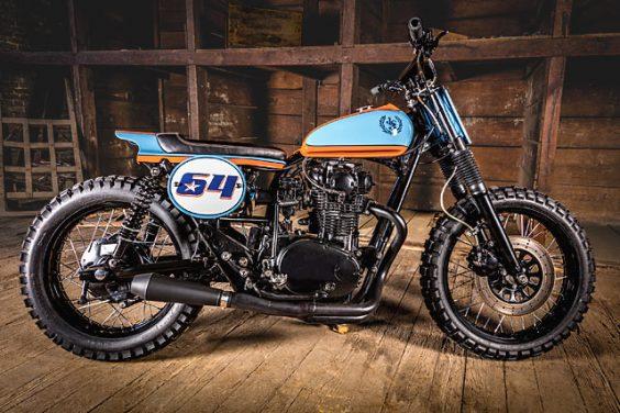 'Number 9' Yamaha XS650 Dirt Tracker – H Garage