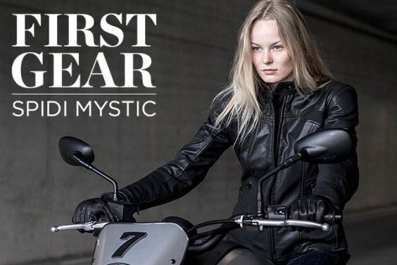 First Gear: Spidi's New Mystic Jacket & Gloves