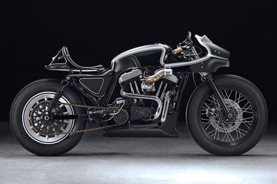 'Typhoon' Harley Sportster Cafe Racer – Beautiful Machines