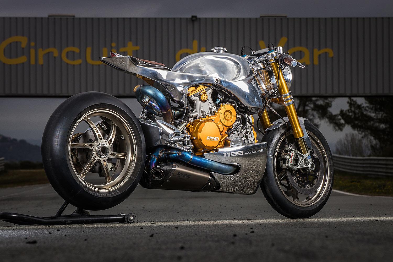 Ducati 1199 S Panigale Racer - Ortolani Customs