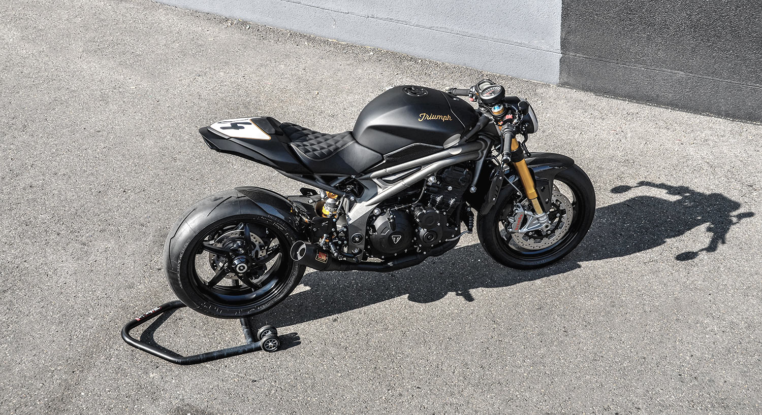 Metal Speed Solid Triumph Speed Triple Cafe Fighter Gb