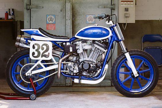 1990 Harley Davidson XL1200C Dirt Tracker – Bart Verstijnen