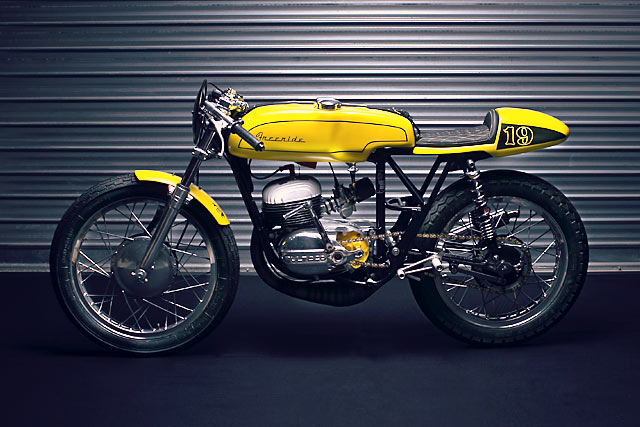 1966 Bultaco Campera 175 Racer - Freeride Motos - Pipeburn com