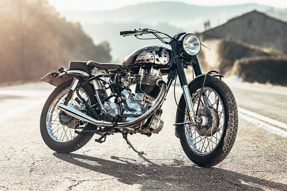 'The Raven 500' Royal Enfield Bullet – Corb Motorcycles
