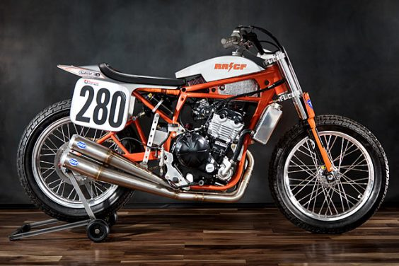 'No. 280' Kawasaki Ninja 650R Flat Tracker – Rat River Cycle Fab