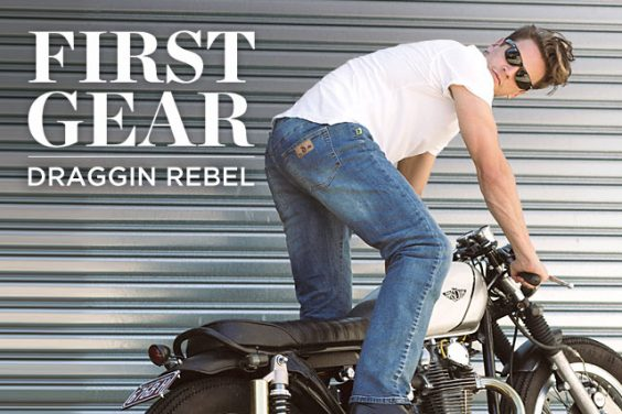 FIRST GEAR. Draggin's Men Rebel Stretch Jeans