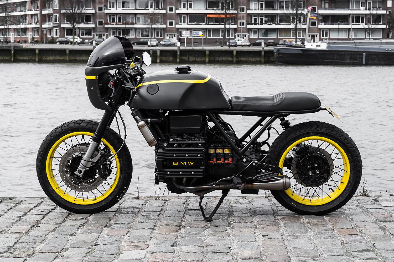 1987 bmw k75 cafe racer moto adonis. Black Bedroom Furniture Sets. Home Design Ideas