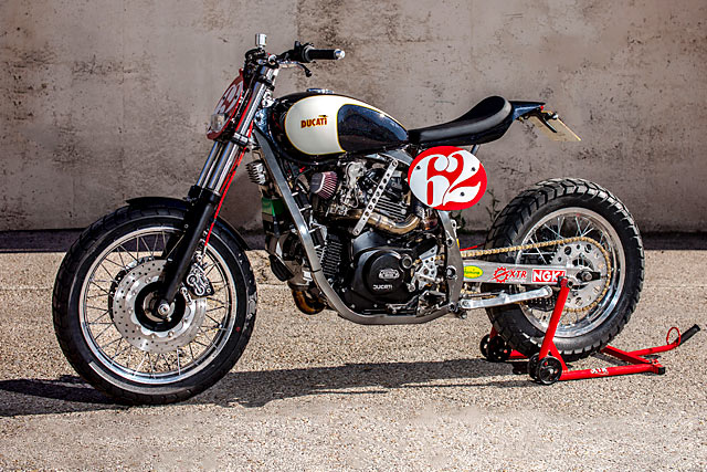 UNFORGETABLE. A Cagiva Elefant Tracker by Spain's XTR PEPO ...