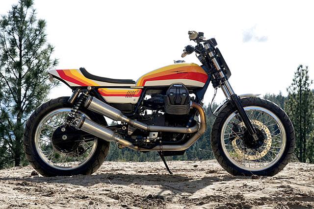 tricolore treat a moto guzzi v9 tracker by motovida. Black Bedroom Furniture Sets. Home Design Ideas