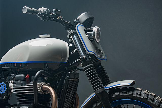 The Dirty Twin Analog Motorcycles Triumph Street Twin Scrambler