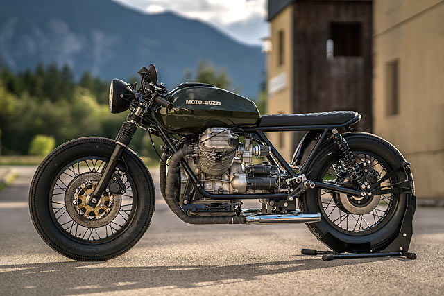 austro italian stallion nct s hot moto guzzi 850 t4 brat cafe. Black Bedroom Furniture Sets. Home Design Ideas