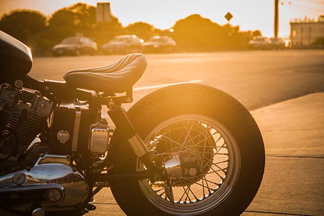 FEELIN' 'FRISCO  Gasser Custom's 'Gypsy' Harley Ironhead