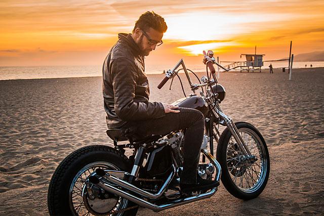 FEELIN' 'FRISCO  Gasser Custom's 'Gypsy' Harley Ironhead Sportster