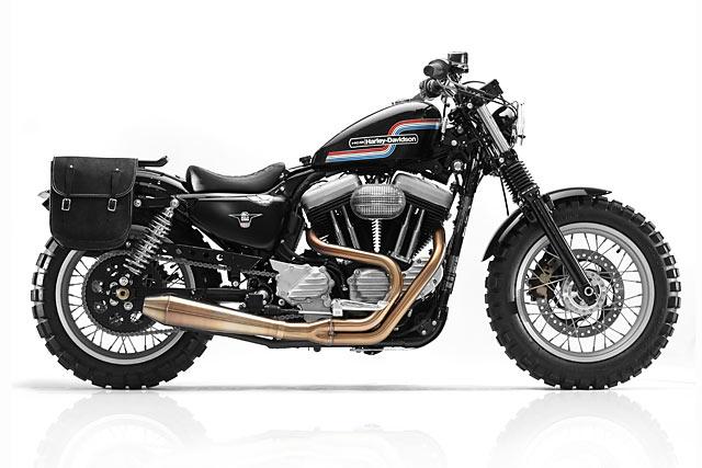Hageman Motorcycles Harley Scrambler