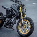 A BLAZING APE. K-Speed's Yamaha 'Monkey-Slaz' Tracker
