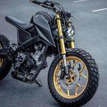 A BLAZING APE. K-Speed's Yamaha 'Monkey-Slaz' Tracker