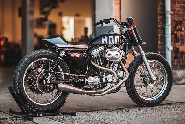 Harley Davidson Dealership Minnesota >> TRUANT AVANTE. A Harley XL883 Flat Tracker from Germany's Hookie Co. - Pipeburn.com