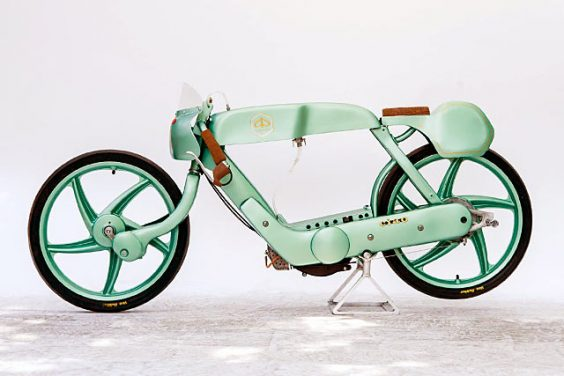 HELLO MOTO. A Piaggio Ciao Racer from Italy's OMT Garage