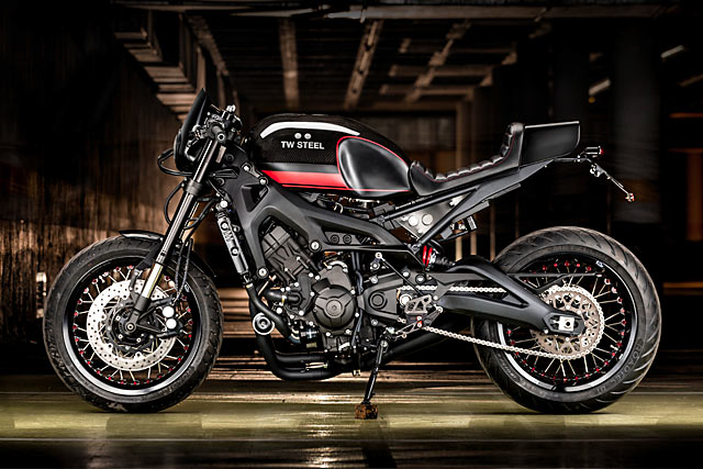 Watch This Macco Motor S Timely Yamaha Xsr900 Cafe Racer