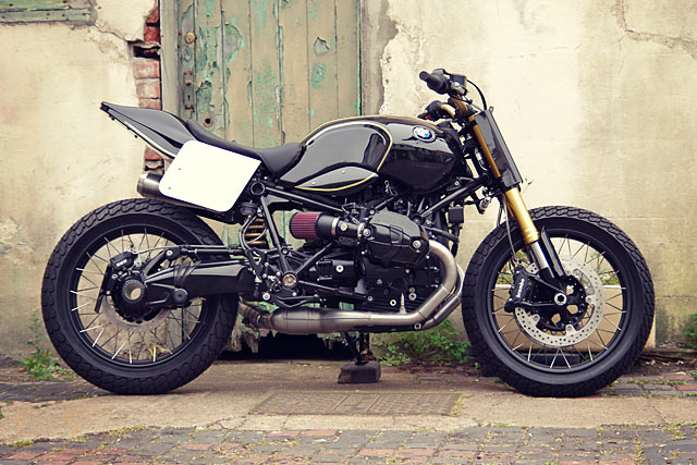 Anarchy In The Uk Pier City Cycle S Bmw R Ninet Hooligan Flat