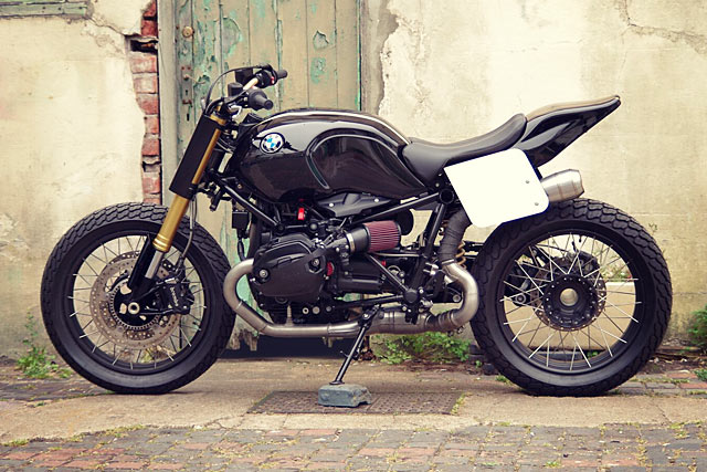 Anarchy In The Uk Pier City Cycles Bmw R Ninet Hooligan Flat