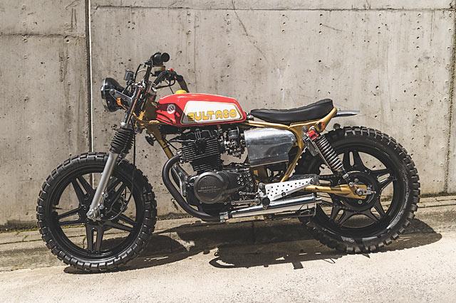 SUSHI 'TACO. A Delicioso Honda CB400 Tracker by T. Jasin ...