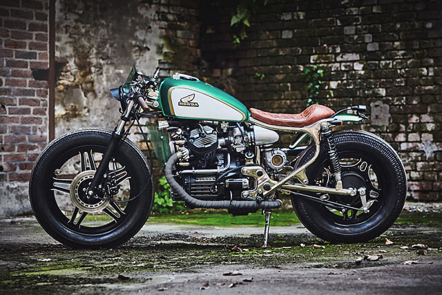 Cafe Racer British Racing Green