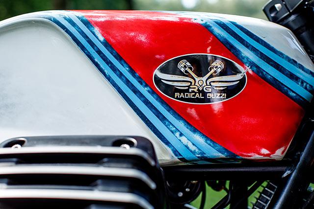 FRIENDS OF DEATH  Radical Guzzi's Deadly Cool Nitrous Sprint Racer