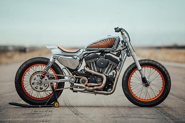 THE ART OF ANGRY. Bang Moto's 'Hooligan' Harley XL1200R Flat ... Tracker on scream tracker, impulse tracker, fast tracker, vehicle tracking system,