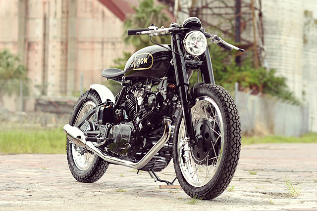 VINCENT-SAN  An Yamaha XV920 from Hageman Motorcycles
