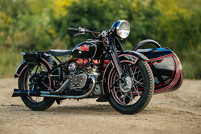 We love featuring bikes from Russia's Motorworld because each and every one is like a script for the next Indiana Jones movie, just without the aliens and ...