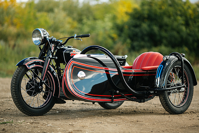 ALMOST FLAT FOUR  Motorworld's Pristine 1936 Puch P800