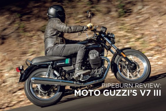 PIPEBURN REVIEW: Moto Guzzi's 2017 V7 III Special & Stone