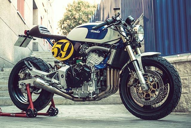 Honda Hornet Cafe Racer Kit