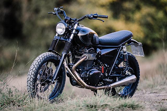 Black Bike White Dirt