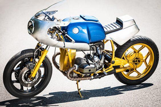 CHEQUERED PAST. Titan's Very Seasoned BMW R80RT Endurance Racer