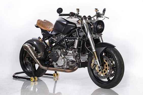 THE WIZARD OF OZZ. A Ducati ST4S Cafe Fighter By Ozz Customs