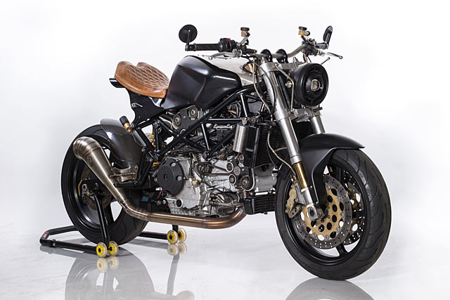THE WIZARD OF OZZ  A Ducati ST4S Cafe Fighter By Ozz Customs