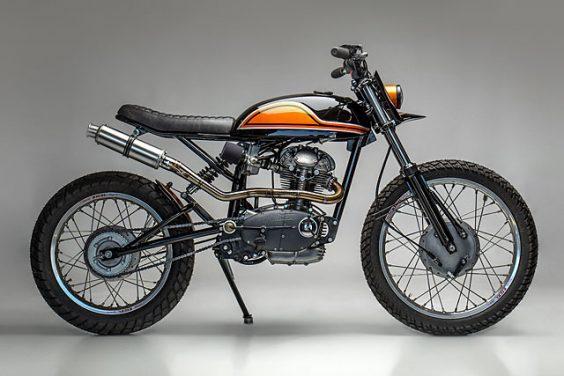 DUC DASTARDLY. A '65 Ducati 250 Scrambler From MotoRelic