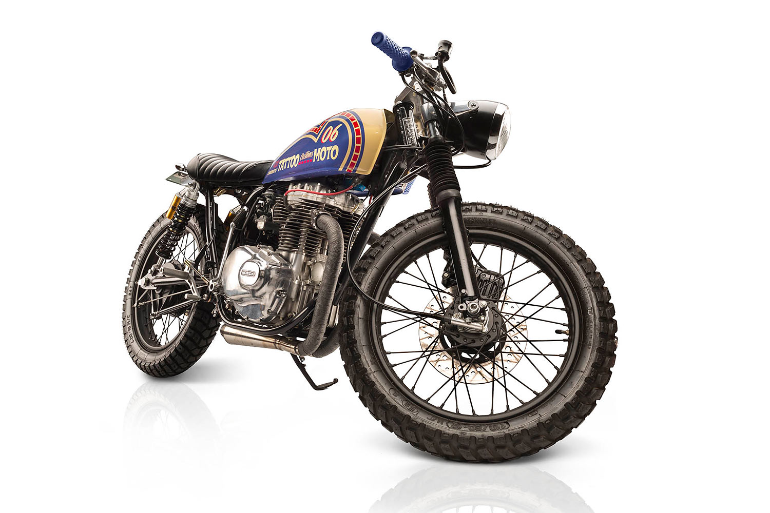 Wanting One Last Hurrah For 2017 They Rolled Up Their Office Sleeves And Got To Work On A 1974 Honda CB360 That Had Been Hanging Around While