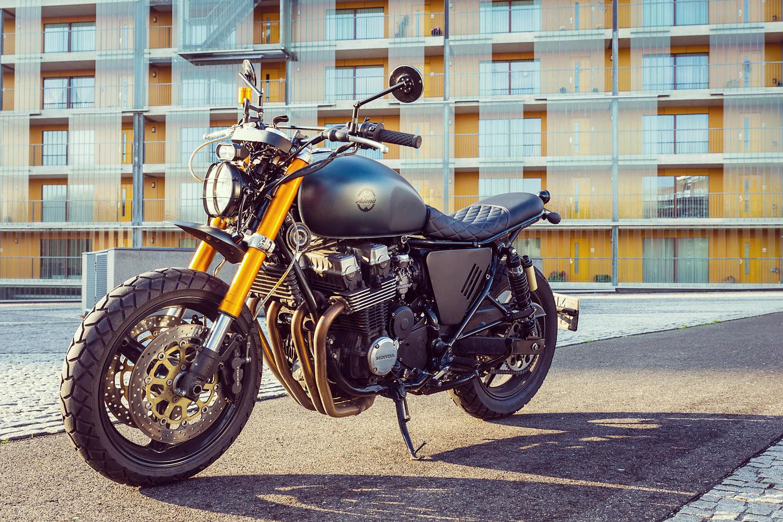 A Honda CB750 Urban Scrambler By Moto Adonis