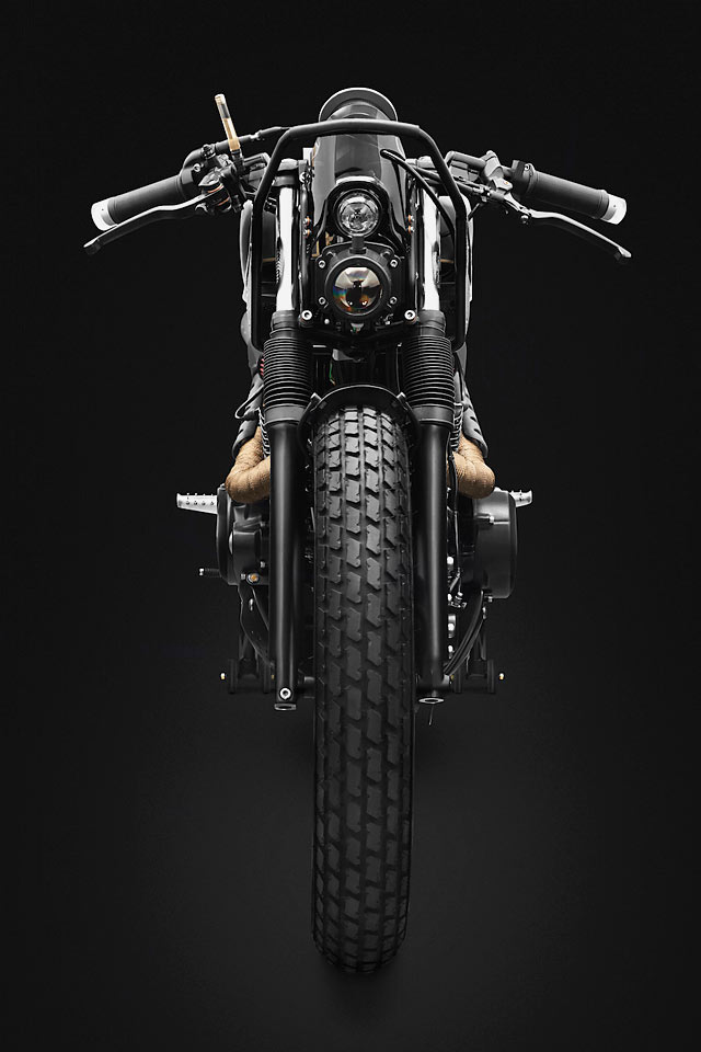 ALIEN TECH. A Radical 'T9' Honda CB250N by Indonesia's Thrive Motorcycles