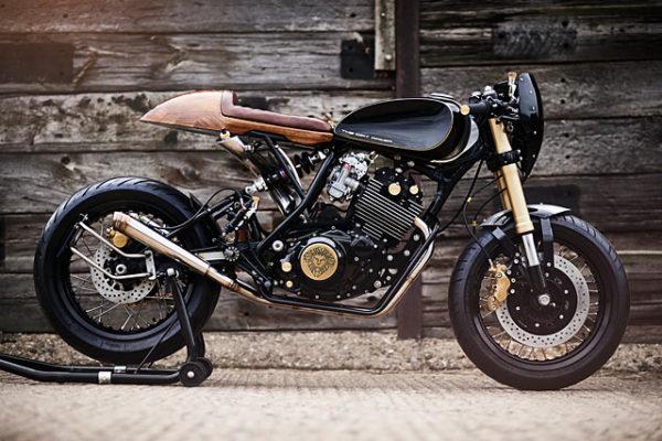 DIRTY DEEDS. Lions Den Motorcycles Builds A Yamaha XT600