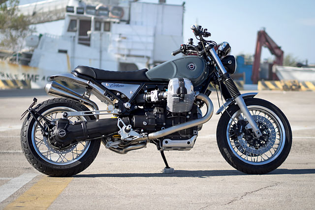 GIM JUNKIE. Officine Rossopuro Get Addicted to a Moto Guzzi Bellagio - Pipeburn.com