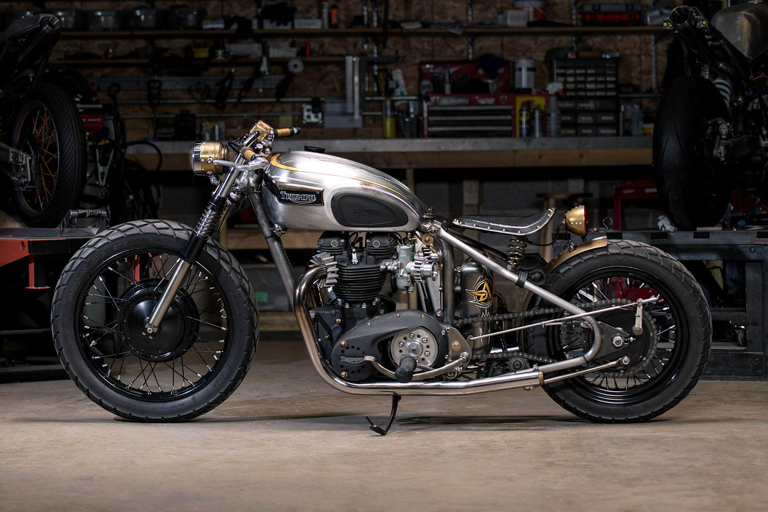 You Only Live Twice Analog Motorcycles Rebuild Their Classic 72