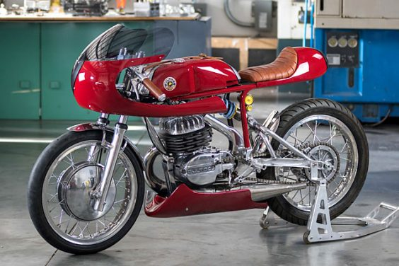 'TACO CON QUESO. A Bultaco Racer from Speed Of Cheese Racing