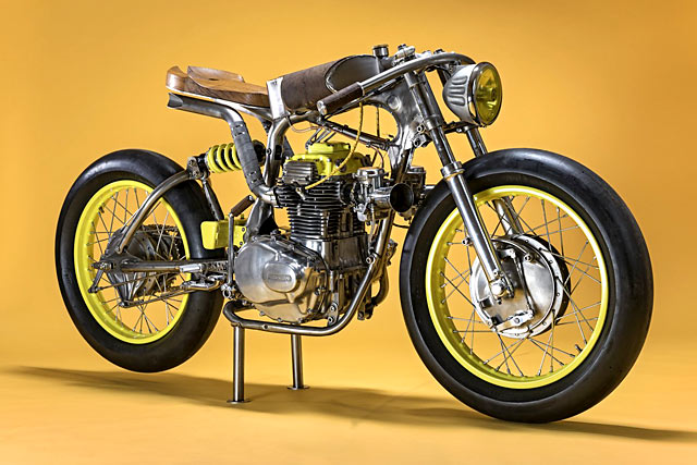 When Austria's Titan Motorcycles first set up a workshop, they stuffed their storage area with a collection of rusted-out motos they'd collected from the ...