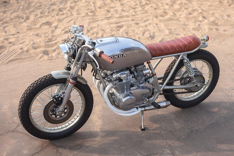 REDHEAD SLED Ready Motos Ginger 78 Honda CB550