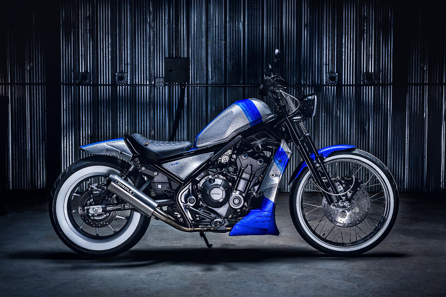 FIGHT LIKE A DIAMOND. Origin8or's Brilliant Honda Rebel ...