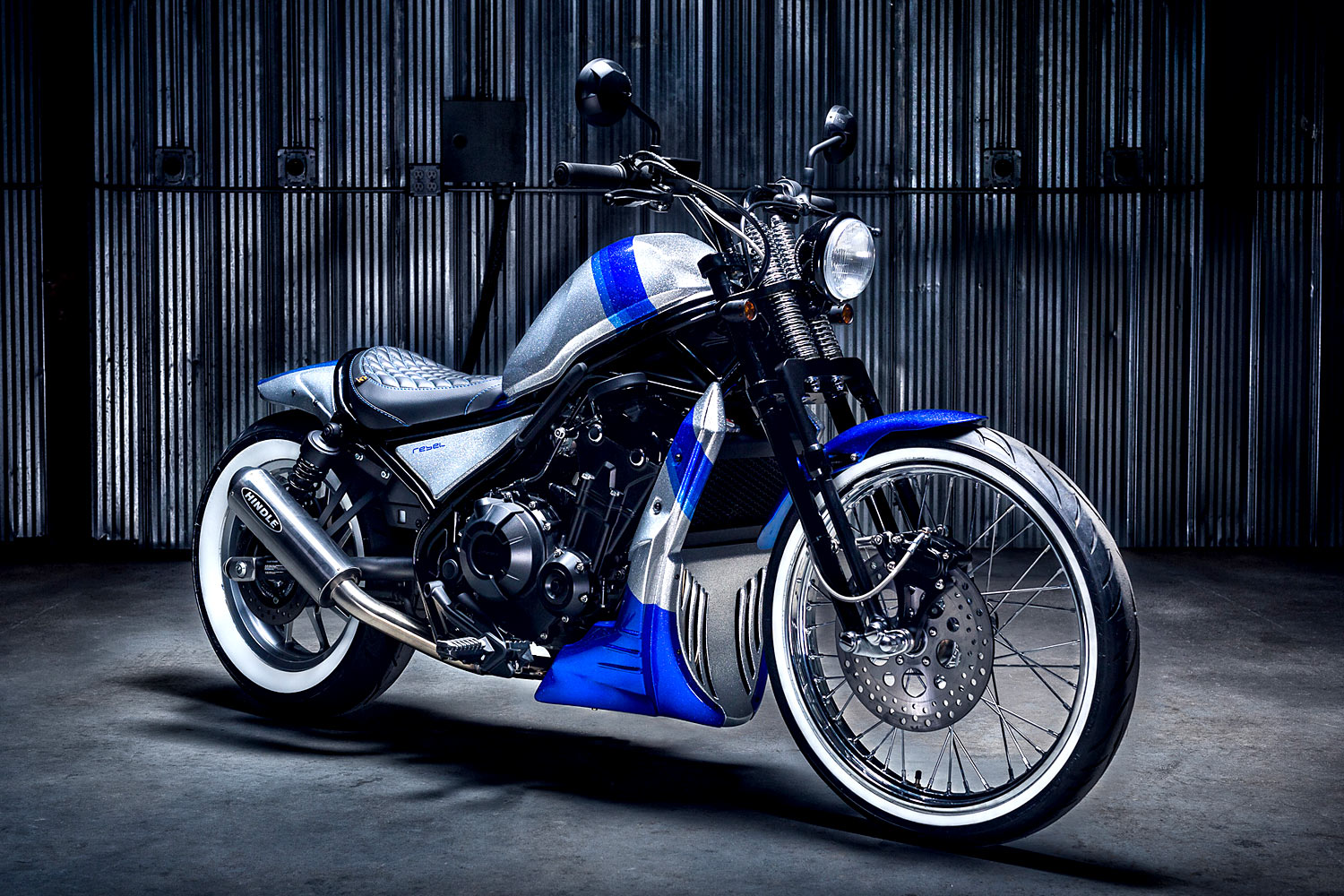 FIGHT LIKE A DIAMOND  Origin8or's Brilliant Honda Rebel